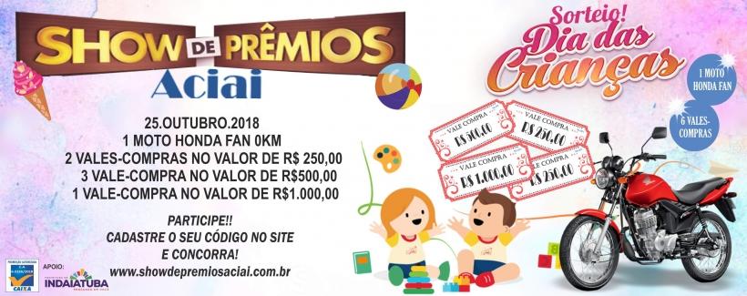 DIA DAS CRIANÇAS PROMOÇÃO 2018